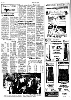 Hope Star from Hope, Arkansas on August 23, 1974 · Page 4