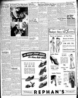 Hope Star from Hope, Arkansas on March 18, 1943 · Page 6