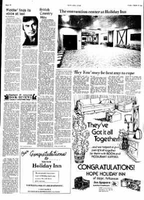Hope Star from Hope, Arkansas on August 23, 1974 · Page 12