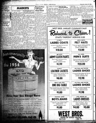 Hope Star from Hope, Arkansas on January 13, 1954 · Page 2