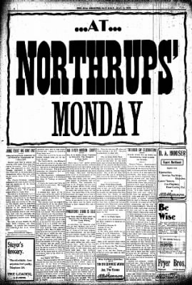 Iola Daily Register And Evening News from Iola, Kansas on July 11, 1903 · Page 6