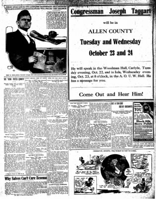 Iola Daily Register And Evening News from Iola, Kansas on October 22, 1912 · Page 5