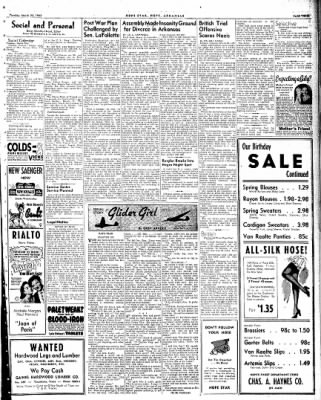Hope Star from Hope, Arkansas on March 23, 1943 · Page 3