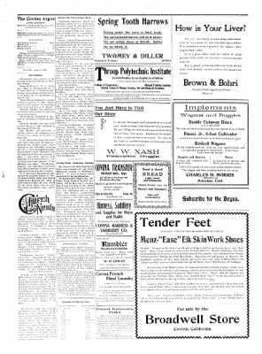 Covina Argus from Covina, California on June 13, 1908 · Page 4