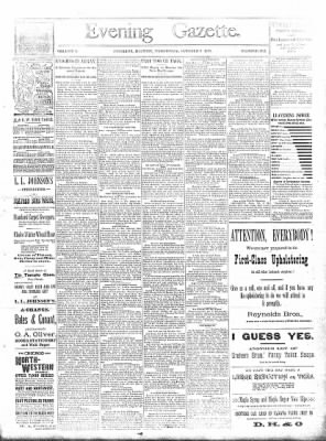 Sterling Daily Gazette from Sterling, Illinois on October 9, 1889 · Page 1