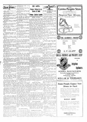 Covina Argus from Covina, California on June 20, 1908 · Page 5