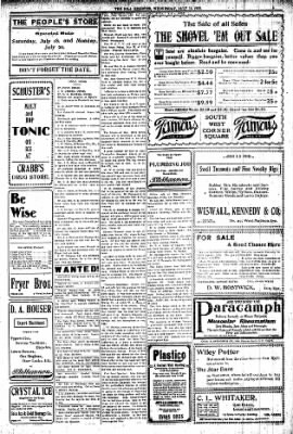 Iola Daily Register And Evening News from Iola, Kansas on July 15, 1903 · Page 5