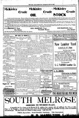 Iola Daily Register And Evening News from Iola, Kansas on July 16, 1903 · Page 3