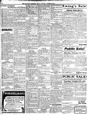 Iola Daily Register And Evening News from Iola, Kansas on October 25, 1912 · Page 6