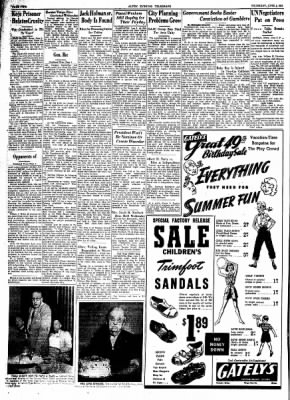 Alton Evening Telegraph from Alton, Illinois on June 5, 1952 · Page 2