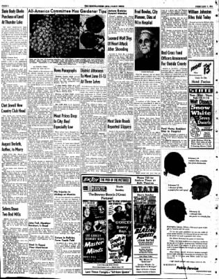The Rhinelander Daily News from Rhinelander, Wisconsin on February 7, 1953 · Page 2
