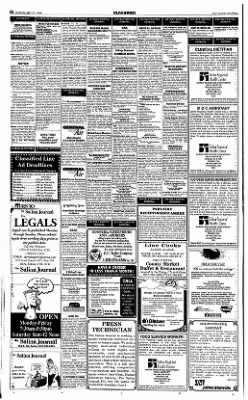 The Salina Journal from Salina, Kansas on May 17, 1998 · Page 22