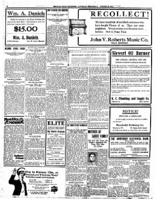 Iola Daily Register And Evening News from Iola, Kansas on October 26, 1912 · Page 8