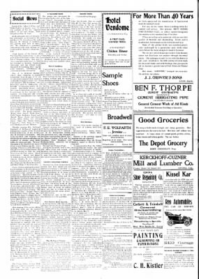 Covina Argus from Covina, California on July 18, 1908 · Page 8