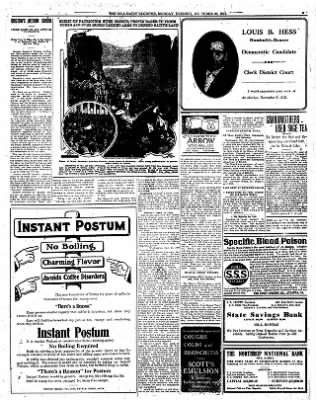 Iola Daily Register And Evening News from Iola, Kansas on October 28, 1912 · Page 5