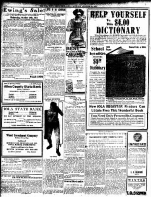 Iola Daily Register And Evening News from Iola, Kansas on October 28, 1912 · Page 6