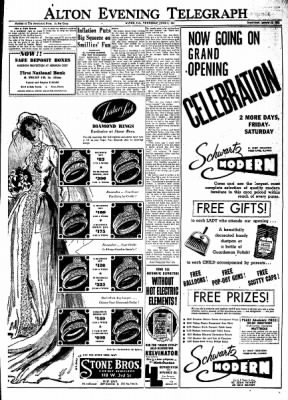 Alton Evening Telegraph from Alton, Illinois on June 5, 1952 · Page 21