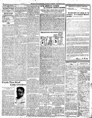 Iola Daily Register And Evening News from Iola, Kansas on October 29, 1912 · Page 4