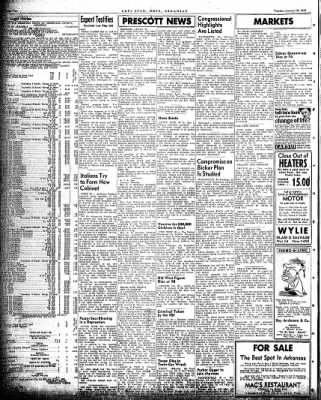 Hope Star from Hope, Arkansas on January 19, 1954 · Page 2