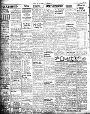 Hope Star from Hope, Arkansas on January 20, 1954 · Page 4