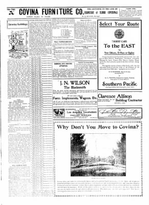 Covina Argus from Covina, California on August 22, 1908 · Page 7