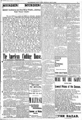 The Hutchinson News from Hutchinson, Kansas on May 9, 1892 · Page 7