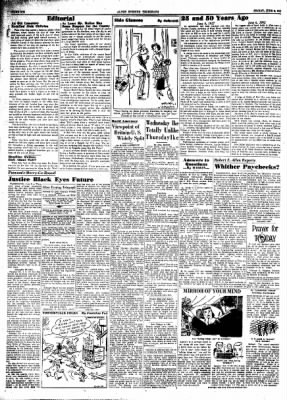Alton Evening Telegraph from Alton, Illinois on June 6, 1952 · Page 6