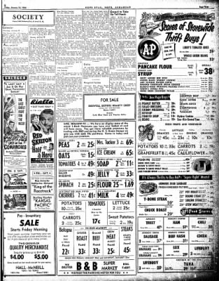 Hope Star from Hope, Arkansas on January 21, 1954 · Page 3