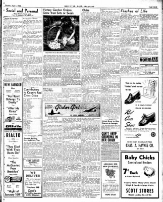Hope Star from Hope, Arkansas on April 1, 1943 · Page 3