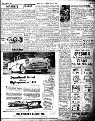 Hope Star from Hope, Arkansas on January 21, 1954 · Page 5