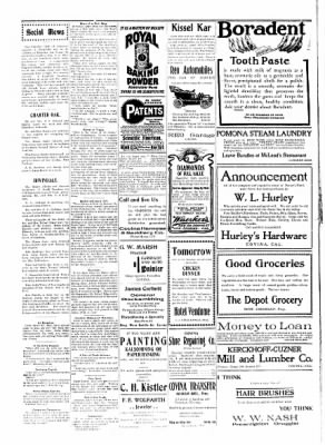 Covina Argus from Covina, California on September 5, 1908 · Page 8