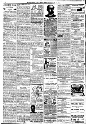 The Hutchinson News from Hutchinson, Kansas on May 11, 1892 · Page 2
