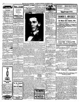 Iola Daily Register And Evening News from Iola, Kansas on November 2, 1912 · Page 2