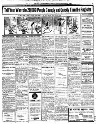 Iola Daily Register And Evening News from Iola, Kansas on November 2, 1912 · Page 7