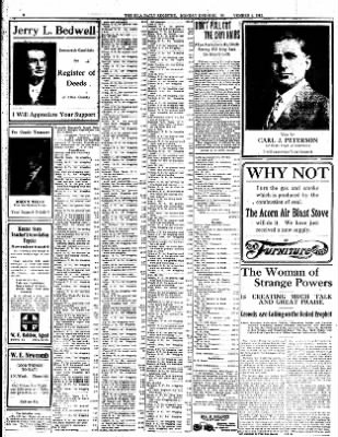 Iola Daily Register And Evening News from Iola, Kansas on November 4, 1912 · Page 6