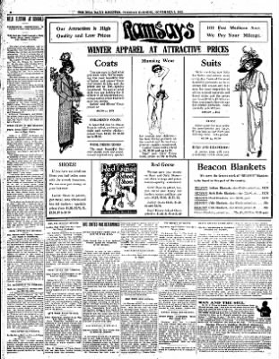 Iola Daily Register And Evening News from Iola, Kansas on November 5, 1912 · Page 6