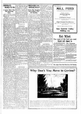 Covina Argus from Covina, California on October 10, 1908 · Page 7