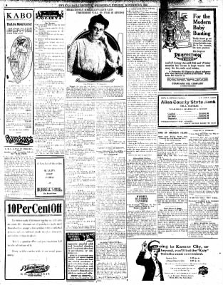 Iola Daily Register And Evening News from Iola, Kansas on November 6, 1912 · Page 2