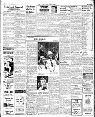 Hope Star from Hope, Arkansas on April 5, 1943 · Page 3