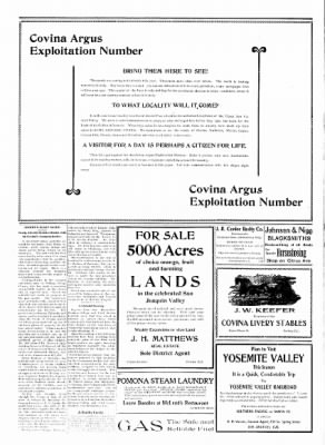 Covina Argus from Covina, California on October 17, 1908 · Page 6