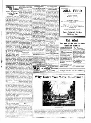 Covina Argus from Covina, California on October 17, 1908 · Page 7