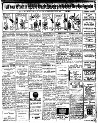 Iola Daily Register And Evening News from Iola, Kansas on November 6, 1912 · Page 7