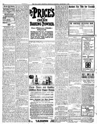 Iola Daily Register And Evening News from Iola, Kansas on November 7, 1912 · Page 4