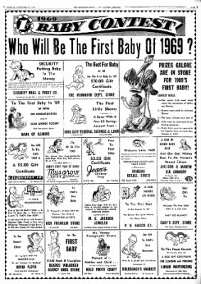 Mt. Vernon Register-News from Mt Vernon, Illinois on December 31, 1968 · Page 13