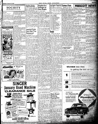 Hope Star from Hope, Arkansas on January 27, 1954 · Page 3