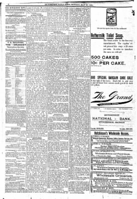 The Hutchinson News from Hutchinson, Kansas on May 23, 1892 · Page 2