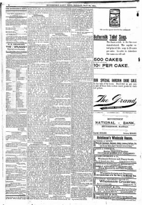 The Hutchinson News from Hutchinson, Kansas on May 23, 1892 · Page 3