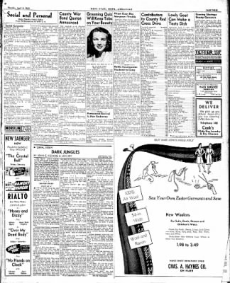 Hope Star from Hope, Arkansas on April 8, 1943 · Page 3