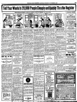 Iola Daily Register And Evening News from Iola, Kansas on November 9, 1912 · Page 7
