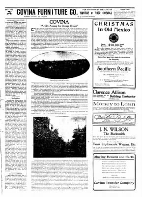 Covina Argus from Covina, California on November 28, 1908 · Page 7